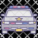 Police Vehicle Car Icon