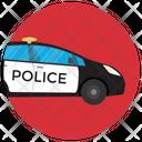 Police Car Cop Car Squad Car Icon