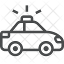 Police Vehicle Car Vehicle Icon