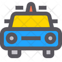 Police Car Front Icon
