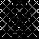 Police Cone Icon