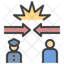 Police Conflict Icon