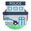 Police Department Police Station Public Department Icon