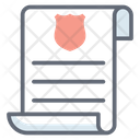 Police Document Icon