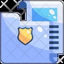 Police folder Icon