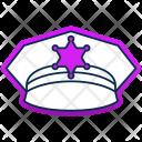 Police Hat Gap Icon