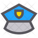 Police Hat Hat Police Cap Icon