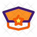 Police Hat Law Icon