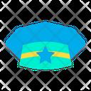 Hat Cap Police Icon