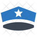 Policeman Police Hat Icon