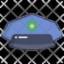 Police Hat Cop Cap Police Cap Icon