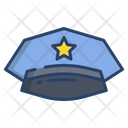 Police Hat Cop Cap Hat Icon