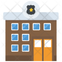 Police Station Government Icon