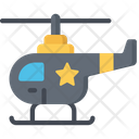 Police Helicopter Vehicles Police Icon