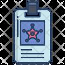 Police Id Card Id Card Identity Card Icon