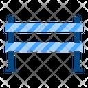 Police Line Forbidden Icon