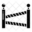Police Line Police Barrier Road Barrier Icon
