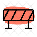 Police Line Barrier Police Barrier Icon