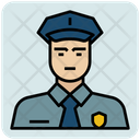 Police Man Police Officer Icon