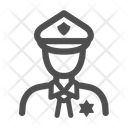 Police Avatar Policeman Cop Icon