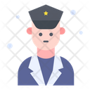 Police Man Military Police Icon