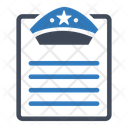 Crime Notice Files Icon