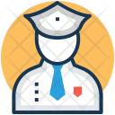 Police Officer Policeman Icon