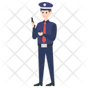 Police Officer Policeman Police Icon