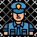 Police Rescue Cop Icon