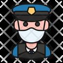 Avatar Profession Policeman Icon
