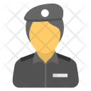 Police Officer Cop Icon