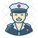 Police Officer Cop Policeman Icon