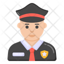 Police Officer Policeman Cop Icon