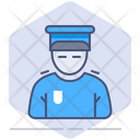 Security Safety Man Icon