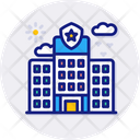 Police Safety Justice Office Icon