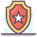 Police Star Badge Icon