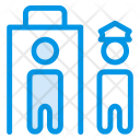 Police Officer Prison Icon