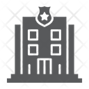 Police Station Building Icon