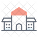 Police Station Architecture City Building Icon