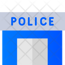 Police Station Police Department Building Icon
