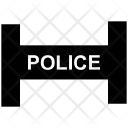 Police Station Barrier Icon