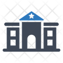 Police Station Building Police Icon
