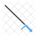 Police stick Icon