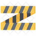 Police Tape Crime Policing Icon