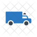 Police Truck Criminal Icon