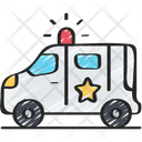 Police Van Policing Law Icon