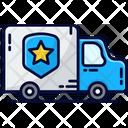 Police Van Car Prison Transporter Icon