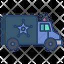 Police Van Cop Van Vehicle Icon