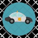 Police Vehicle Cop Icon