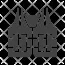 Police Vest Life Icon